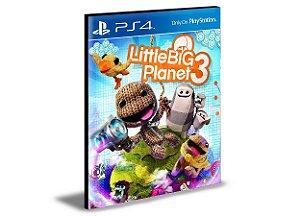 LittleBigPlanet 3 - PS4 PSN MÍDIA DIGITAL