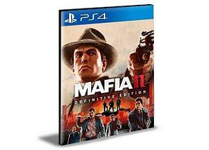 MAFIA II - Defenitive Edtion PS4 PSN MÍDIA DIGITAL