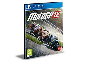 MotoGP 18 - PS4 PSN Mídia Digital