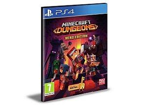 Minecraft Dungeons  - PS4 PSN Mídia Digital