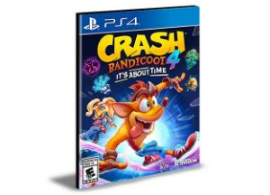 Crash Bandicoot 4 It's About Time  - PS4 PSN MÍDIA DIGITAL
