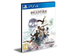 Pillars of Eternity II Deadfire - Ultimate Edition   -  PS4 PSN MÍDIA DIGITAL