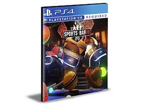 Sports Bar VR  -  PS4 PSN MÍDIA DIGITAL
