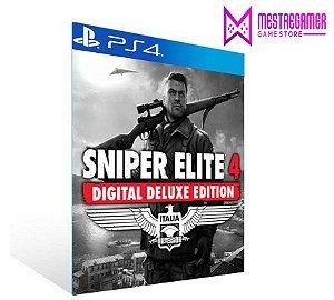 Sniper Elite 4 Deluxe Edition   -  PS4 PSN MÍDIA DIGITAL