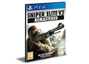 SNIPER ELITE V2 REMASTERED  -  PS4 PSN MÍDIA DIGITAL