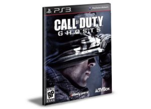 CALL OF DUTY GHOSTS - PS3 PSN MÍDIA DIGITAL