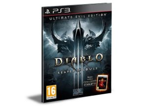 DIABLO 3 REAPER OF SOULS ULTIMATE EVIL EDITION (Brasil) - PS3 PSN MÍDIA DIGITAL