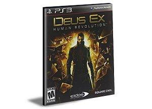 DEUS EX HUMAN REVOLUTION - PS3 PSN MÍDIA DIGITAL