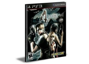 RESIDENT EVIL 4 - PS3 PSN MÍDIA DIGITAL