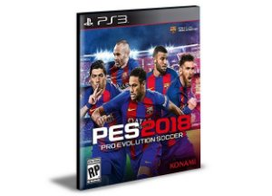 PES 18 - PS3 PSN MÍDIA DIGITAL PORTUGUES
