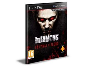 Infamous Festival of Blood Ps3 - Mídia Digital