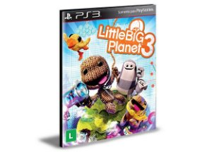 Little Big Planet 3 PS3 PSN Mídia Digital