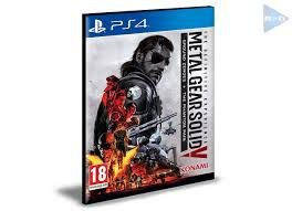 METAL GEAR SOLID 5 THE DEFINITIVE EXPERIENCE PS4 - PSN - MÍDIA DIGITAL