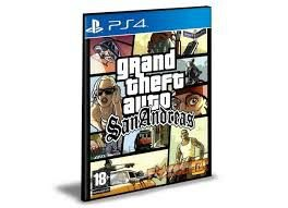 GTA SAN ANDREAS - PS4 - PSN - MÍDIA DIGITAL