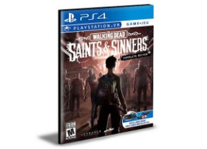 The Walking Dead Saints and Sinners Ps4 - PS5 Psn - Mídia Digital