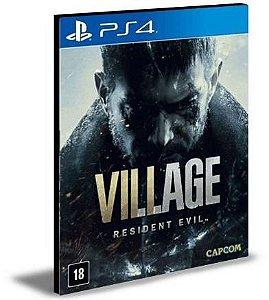 RESIDENT EVIL VILLAGE - PS4  - PORTUGUÊS PSN MÍDIA DIGITAL