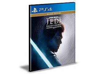 STAR WARS JEDI FALLEN ORDER - Edição Deluxe -PS4 PSN MÍDIA DIGITAL