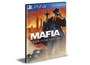 Mafia Definitive Edition -  PS4 & PS5 - PSN MÍDIA DIGITAL