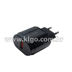 Carregador Universal Klgo 3.0A USB KC-300