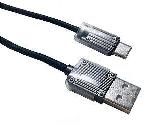 Cabo USB KLGO S13 Tipo C para Dados e Carregamento