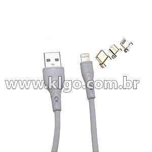 Cabo USB KLGO S73 Tipo C para Dados e Carregamento