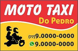 Adesivos para Moto-Taxi 5x3,3cm 540Un