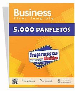 PANFLETOS, FLYERS E FOLHETOS COUCHÊ 80G SEM VERNIZ 150X105MM - 4X0 - 5000unid