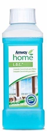 Amway Home Loc Limpador Concentrado Para Vidros