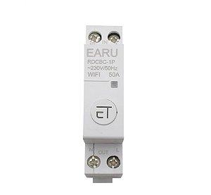 Disjuntor / Interruptor 1P WIFI 63A DIN - App eWeLink