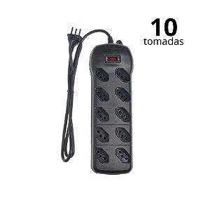 FILTRO DE LINHA 10 TOMADAS QUALITRONIX QFL10