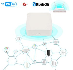 Gateway multimodo wifi + bluetooth + zigbee tuya/smart life