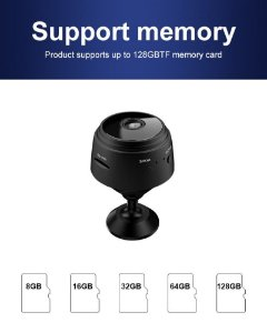 MINI CAMERA INTELIGENTE WI-FI 1080P FULL HD