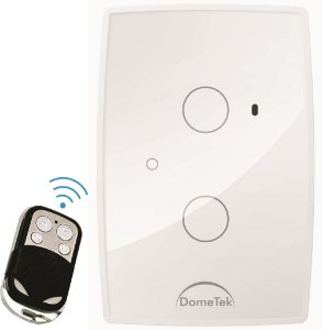 Interruptor Touch 2 PAD RF DIAMOND  Branco