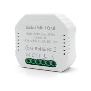 HI GEONAV MODULO RELE 10A AC 90-250V 1 CANAL