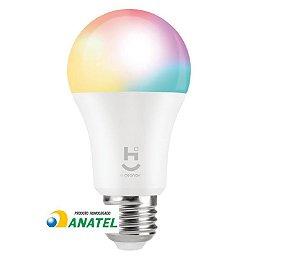 LAMPADA INTELIGENTE RGB+W 2700/6500 BRANCO QUENTE E FRIO