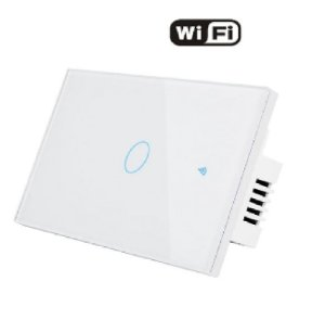 Interruptor 1 Via WIFI parede - Casa Inteligente-Smart Life
