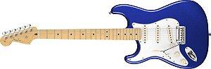 Guitarra para Canhotos Fender 011 3022 - AM Standard Stratocaster LH MN - 795 - Mystic Blue