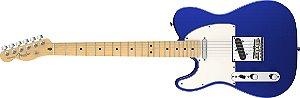 Guitarra para Canhotos Fender 011 3222 - AM Standard Telecaster LH MN - 795 - Mystic Blue