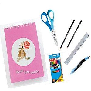 Kit Escolar para Canhotos Infantil 2