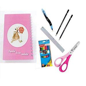 Kit Escolar para Canhotos Infantil 4