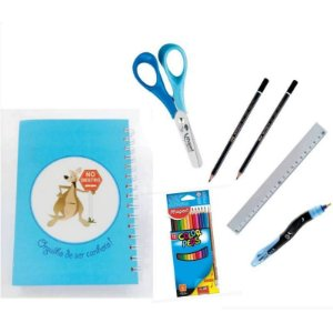 Kit Escolar para Canhotos Infantil 5