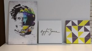 Conjunto de Pôsteres Ayrton Senna da Silva - Quatro Lados