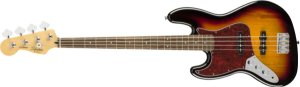 Contrabaixo para Canhotos FENDER 037 6620 - Squier Vintage Modified J. Bass LR LH - 500 - 3 Color Sunburst