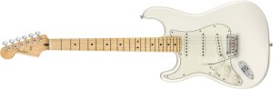 Guitarra para Canhotos FENDER 014 4512 - Player Stratocaster LH MN - 515 - Polar White