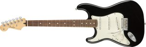 Guitarra para Canhotos FENDER 014 4513 - Player Stratocaster LH PF - 506 - Black