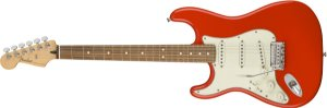 Guitarra para Canhotos FENDER 014 4513 - Player Stratocaster LH PF - 525 - Sonic Red