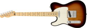 Guitarra para Canhotos FENDER 014 5222 - Player Telecaster LH MN - 500 - 3 Color Sunburst