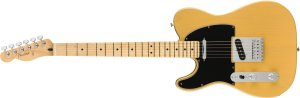 Guitarra para Canhotos Fender 014 5222 - Player Telecaster LH MN - 550 - Butterscotch Blonde
