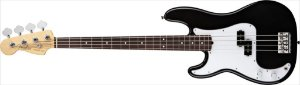 Contrabaixo para Canhotos FENDER 019 3620 - AM Standard Precision Bass LH RW - 706 - Black