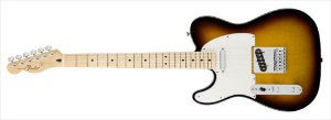 Guitarra para Canhotos FENDER 014 5122 - Standard Telecaster LH - 532 - Brown Sunburst